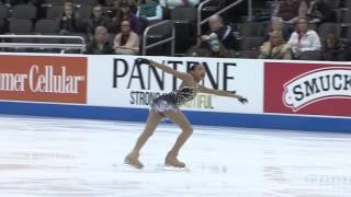 Starr Andrews(Age 15) U.S.A. 2017 National Junior Silver Medalist