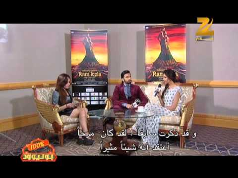 The Stars Of Ram-Leela Interview On Zee Aflam