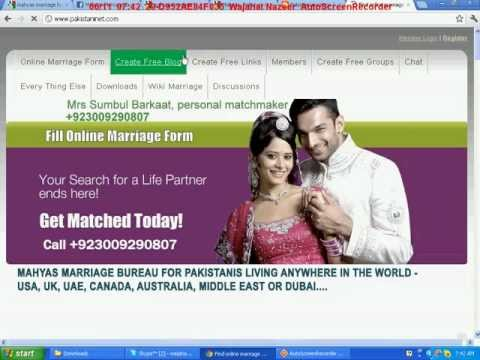Pakistani Marriage Sites