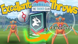 DEOXYS EXCELLENT THROWS EVERYTIME! Catch DEOXYS in POKEMON GO