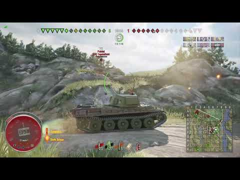 World of Tanks Xbox one HMH AMX M4 mle. 49 3 Kills