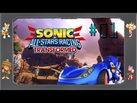Sonic All Star Racing Transformed - #01