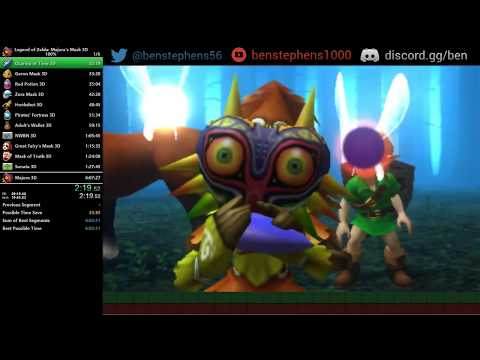 Majora's Mask 3D 100% Speedrun in 5:59:35