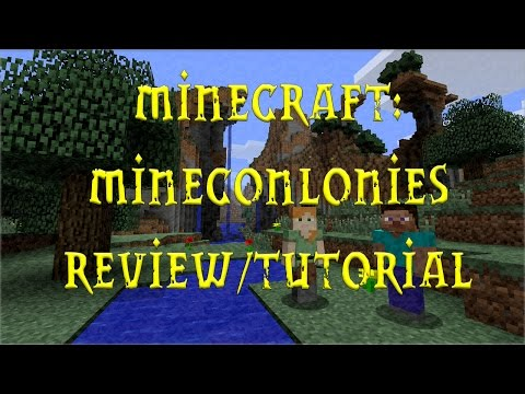 Minecraft Minecolonies Review/tutorial