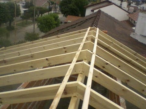 Techos de tejas francesas zona oeste youtube for Techos en drywall para casas