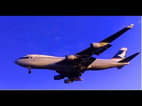 Cathay Pacific Cargo Boeing 747 Landing at Mumbai Airport