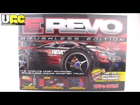 Traxxas E-REVO Brushless Edition in-depth unboxing