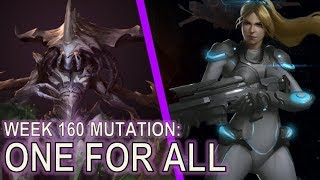 Starcraft II: One for All [Bile Launchers!]