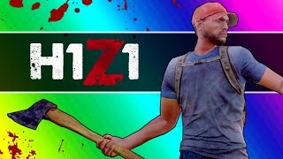 H1Z1 Adventures - The Police Station & My Name Jeff (H1Z1 Funny Moments)