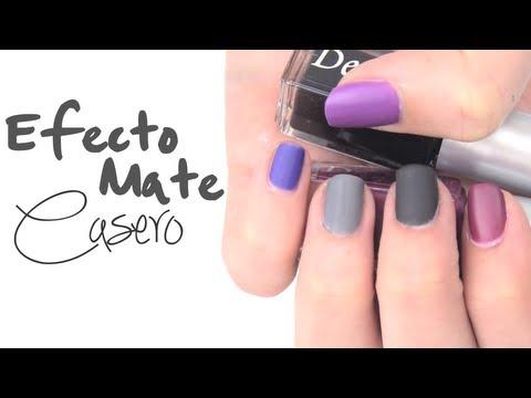 DIY: Esmalte de uñas casero mate