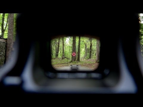 EoTech & AR15 Carbine POV Shooting