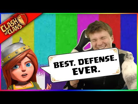 BEST. DEFENSE. EVER. ▶️ Clash of Clans ◀️ 'VOTED #1 BY LULU'