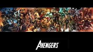 ALL AVENGERS of marvel in 30 sg