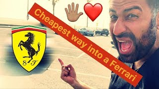 FERRARI - CHEAPEST way to get GIRLS