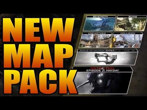GHOSTS DEVASTATION TRAILER! New Gun, Dome Remake, Extinction! (Call of Duty DLC Map Maps Pack 2)