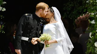 download musica Harry and Meghans first kiss as husband and wife