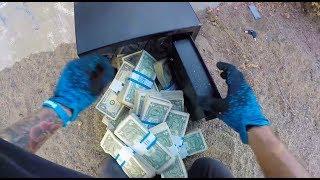 FOUND SAFE FULL OF MONEY!