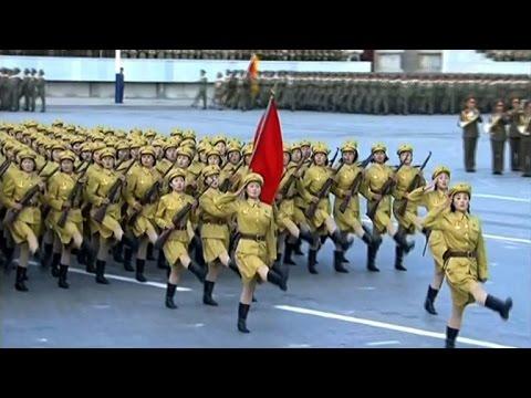 N. Korea capital kicks off military extravaganza