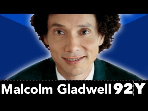 Exclusive Malcolm Gladwell Interview at the 92Y