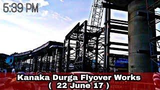 [ BIKE VIEW ] Vijayawada Kanaka Durga Flyover Works - 22 June 17