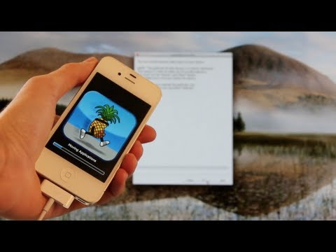 NEW Jailbreak 6.0.1 Semi Untethered iOS 6.1.3 iPhone 4.3GS & iPod Touch 4