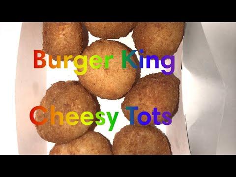 Taste Tasting Burger King Cheesy TOTs thumbnail