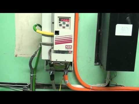 Лифт. Работа ПЧ KEB на лифтовой лебетке