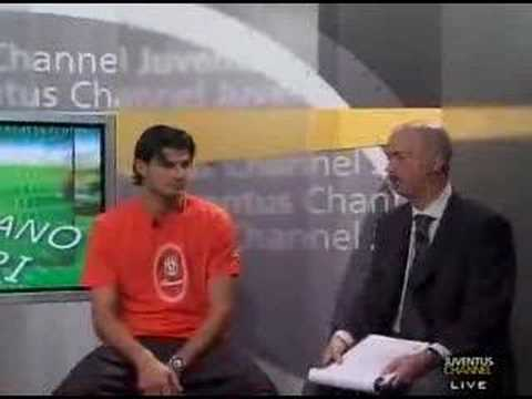 Presentazione Juve 2007/2008 : Intervista a Iaquinta