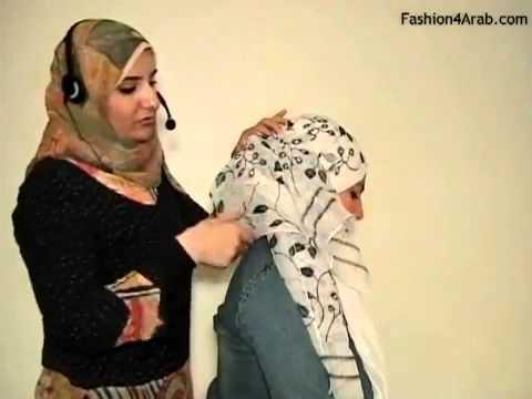 فيديو- حلقات تعليم لفات الحجاب (الحلقة رقم 6).flv Music Videos