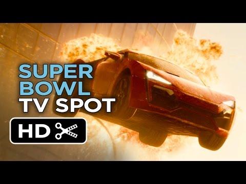 Furious 7 Official Super Bowl TV Spot (2015) - Paul Walker Movie HD