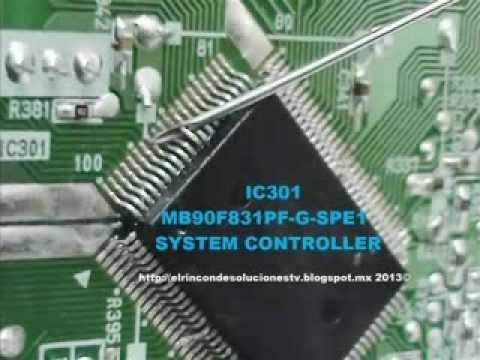 Sony HCD EX8. reparación del sistema de encendido.
