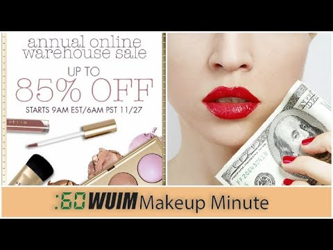 CYBER MONDAY *HUGE* SALES! Up to 85% off!!! | Makeup Minute