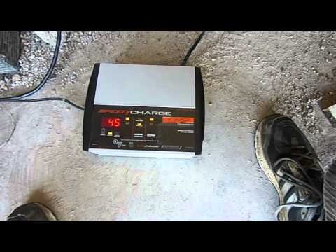 Club Car Golf Cart 8v 18 month old battery revival charging attempt