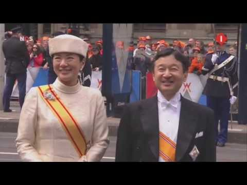 Princess Masako of Japan 30 april 2013 Netherlands 雅子皇太子妃殿下