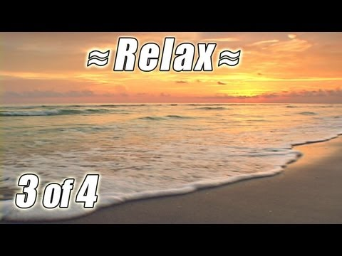 RELAXING VIDEO #3 BEST FLORIDA BEACHES Ocean Wave Sounds Nature Waves relaxing sleep relax HD