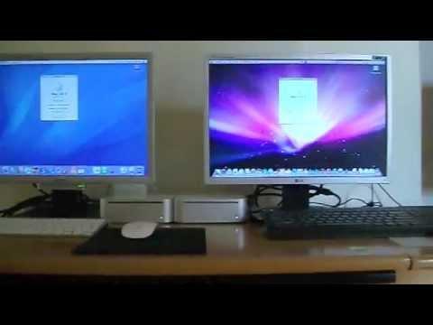 Mac Os X 10 4 Tiger Vs Mac Os X 10 5 Leopard On Mac Mini
