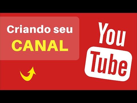 Como CRIAR UM CANAL no YouTube Passo a Passo | Atualizado 2017 thumbnail