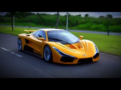 THE AURELIO - The First Filipino Supercar