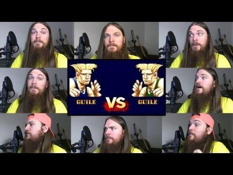 El tema musical de Guile en Street Fighter en versión a capela