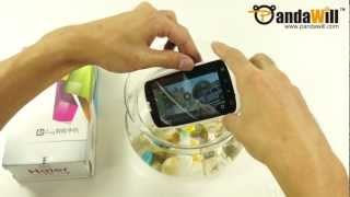 Amazing Water Proof Android Smart Phone Test: Haier W718 IP67 ICS 3G GPS Smart Phone