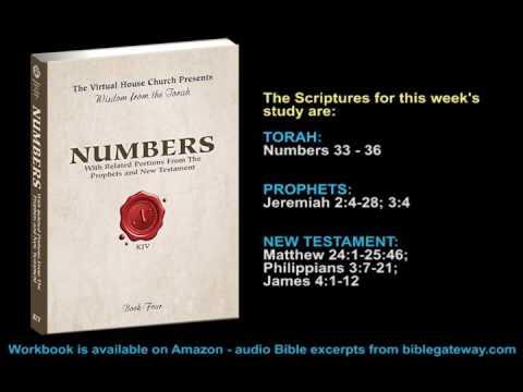 VHC Week 43 - Torah Portion: Massei (Journeys)