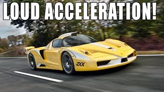 Ferrari Enzo ZXX Edo Competition - extrem LOUD accelerations!!!