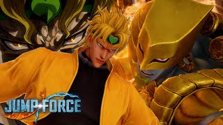 THE WORLD! DIO Brando Jump Force Online Gameplay!