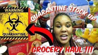 Quarantine Stock up | Family of 5 grocery haul | Walmart | Winco Foods | Aldi