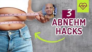 💡 3 ABNEHM-HACKS 💡 Abnehmen ohne Sport 🏋🏼♀️ Gewichtsabnahme TRICK💡