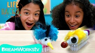 DIY Racing Robots + and Other Upcycled Toy Hacks | LIFE HACKS FOR KIDS