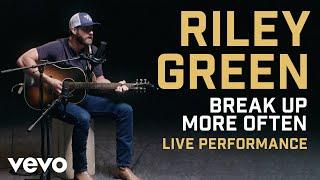 Riley Green 34 Break Up More Often 34 Official Performance Vevo