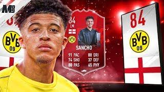 FIFA 19 POTM SANCHO REVIEW | 84 POTM SANCHO PLAYER REVIEW | FIFA 19 ULTIMATE TEAM