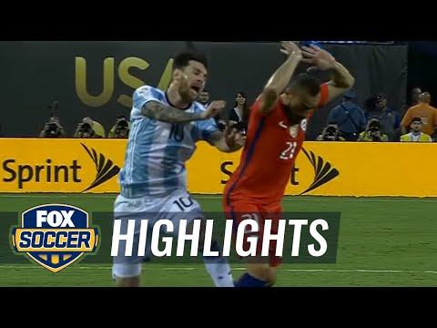 Argentina vs. Chile | 2016 Copa America Final Highlights