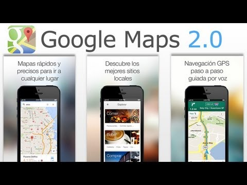 Google Maps Para iOS Se Actualiza A Su Version 2.0 Ahora Para iPad y iPad Mini
